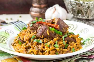 Instant Pot Mutton Pilaf