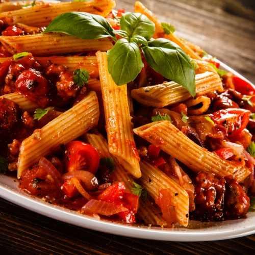 instant pot penne rigate pasta  corrie cooks