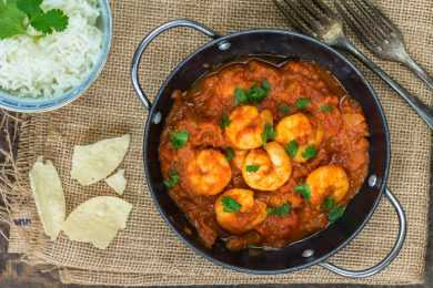 Instant Pot Pepper Shrimp Curry