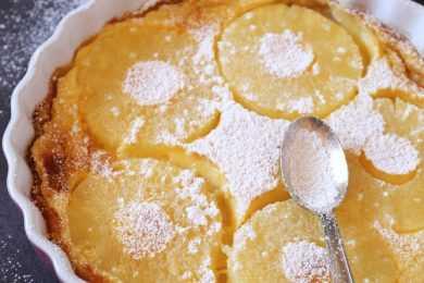 Instant Pot Pina Colada Clafoutis