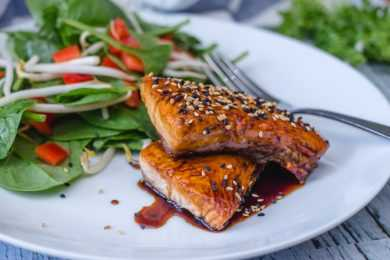 Instant Pot Salmon Teriyaki