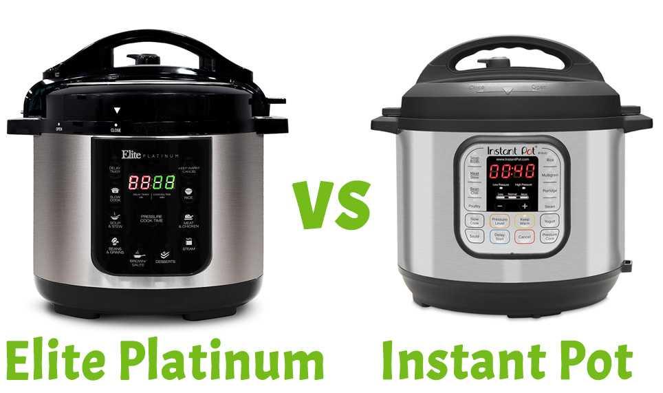 Instant Pot vs Elite Platinum Pressure Cookers - Corrie Cooks