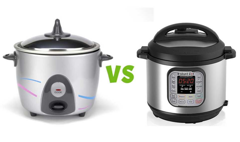 Electric Pressure Cooker VS Rice Cooker: The Difference