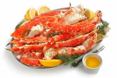 Instant Pot Buttered Crab Legs