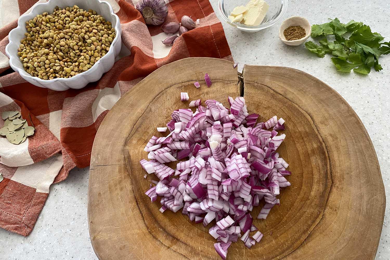 Dal Makhani-onion