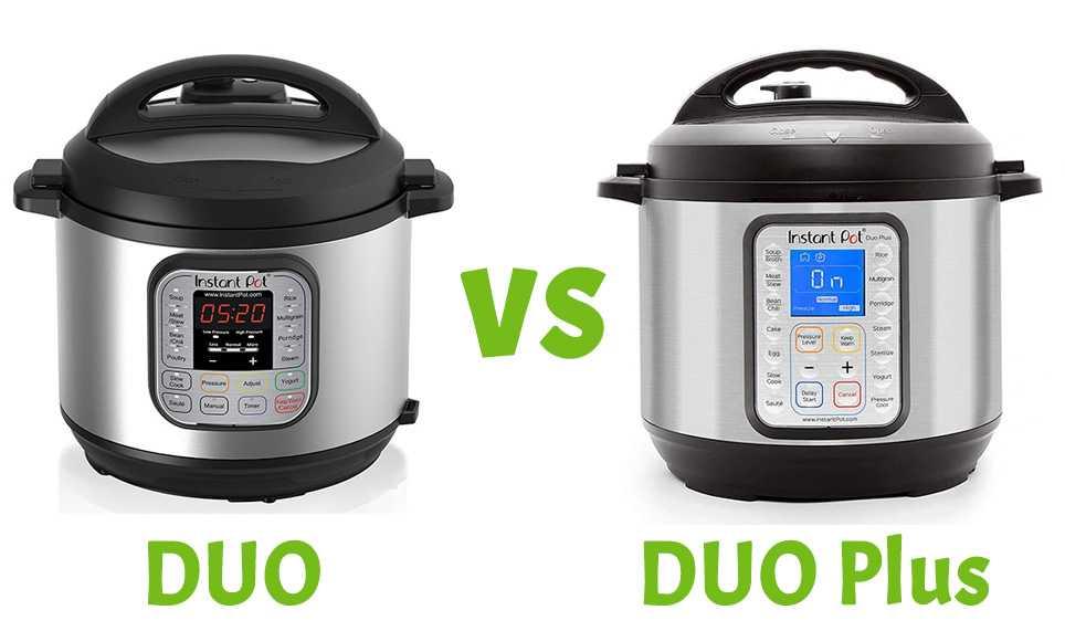 Instant Pot Duo Vs Duo Plus
