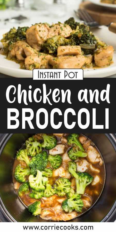 Instant Pot Chicken and Broccoli