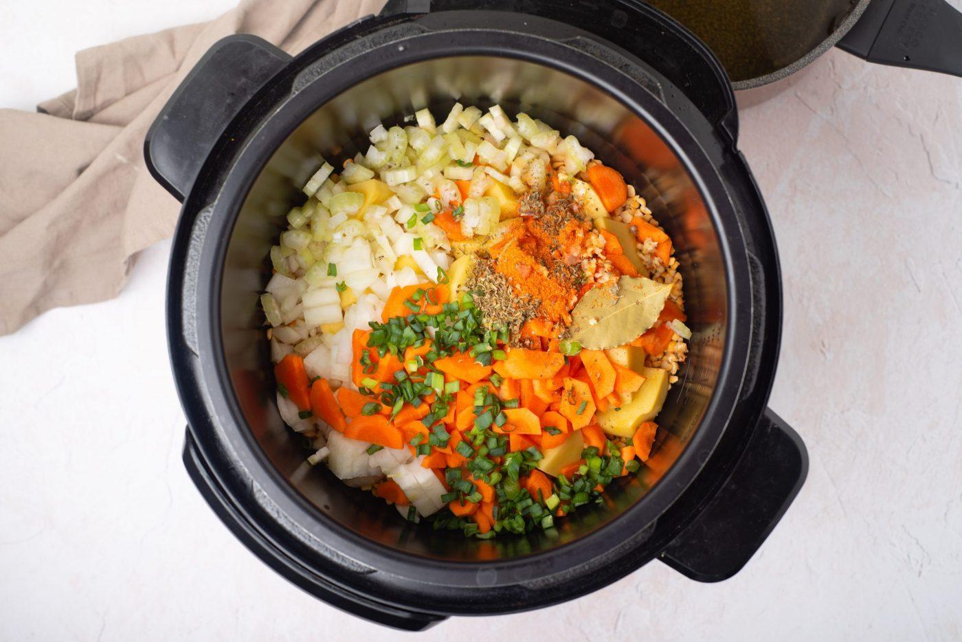Instant pot split pea soup-2