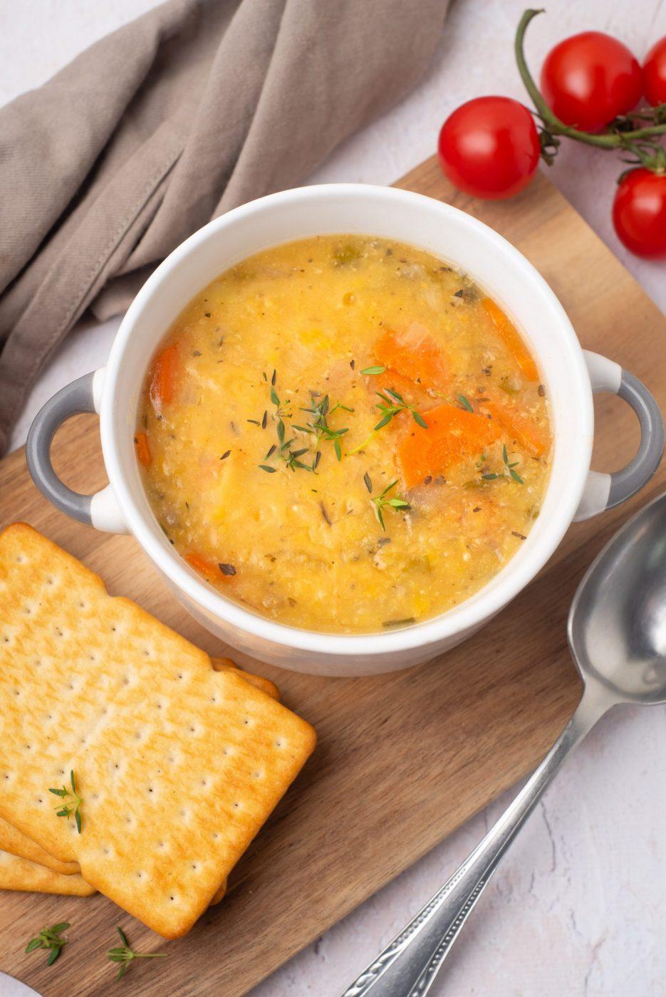 Instant pot split pea soup-7