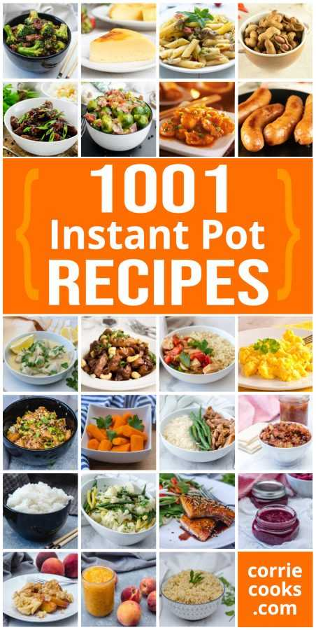 1001 Instant Pot Recipes