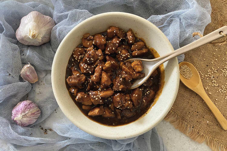 Instant Pot Honey Sesame Chicken