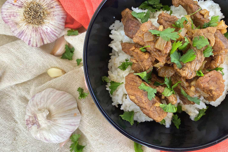 Instant Pot Mongolian Beef9