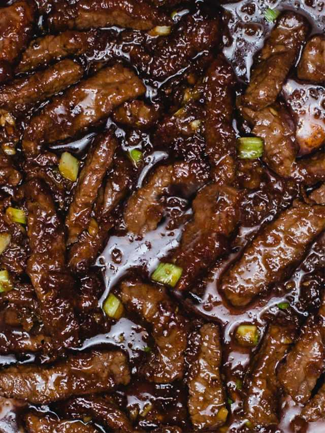 Mongolian Beef in Instant Pot