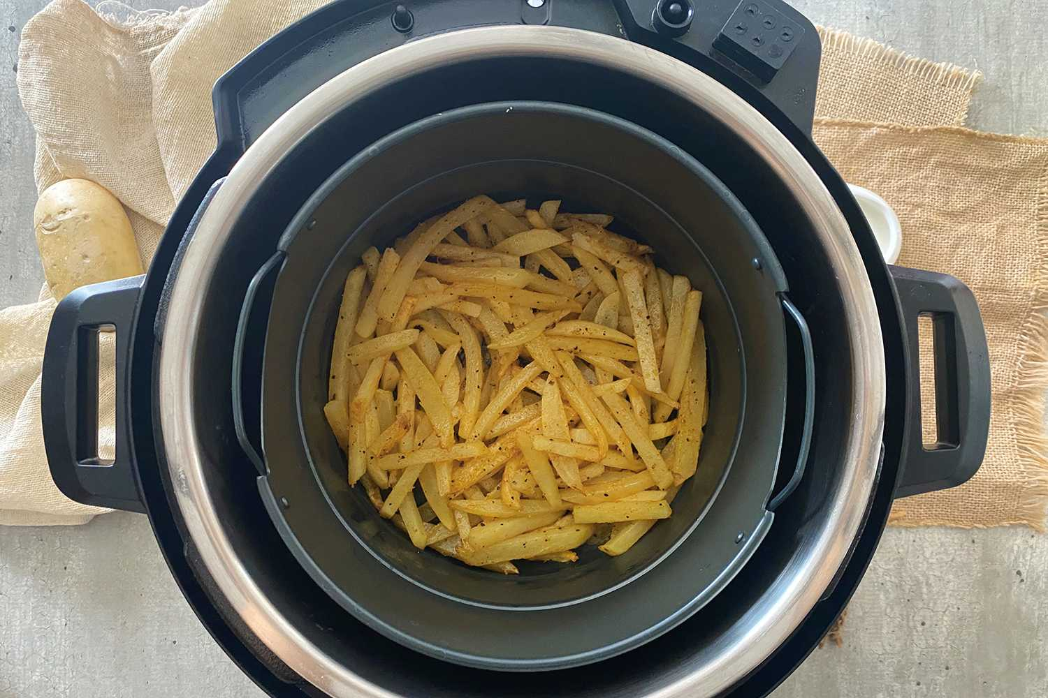 Instant Pot French Fries