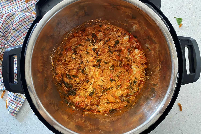 Instant Pot Baked Ziti