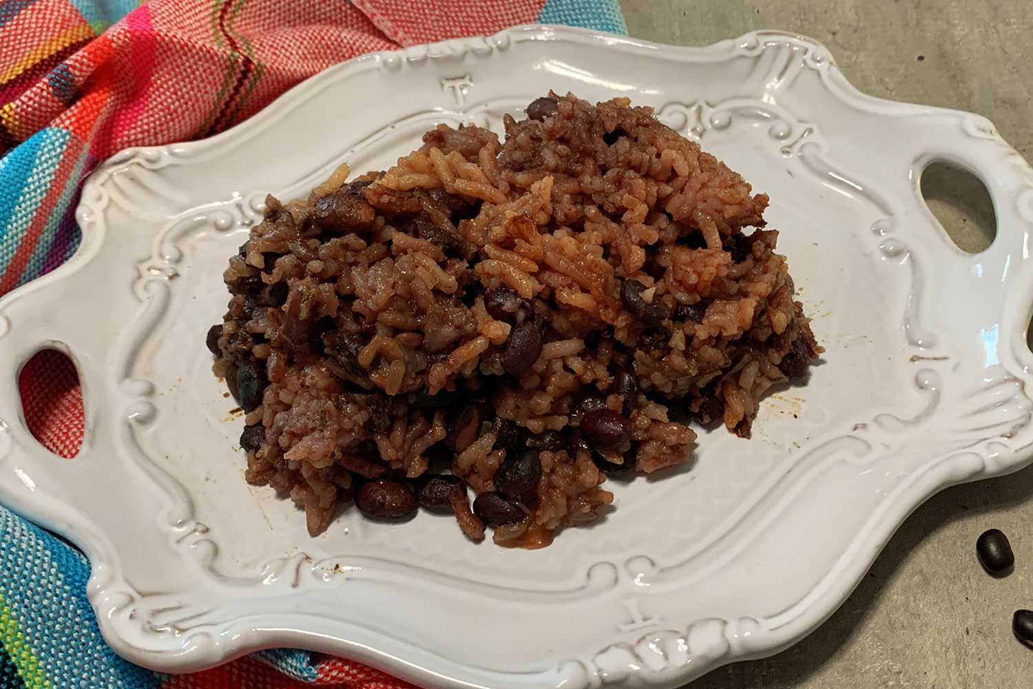 Instant Pot Black Beans and Rice