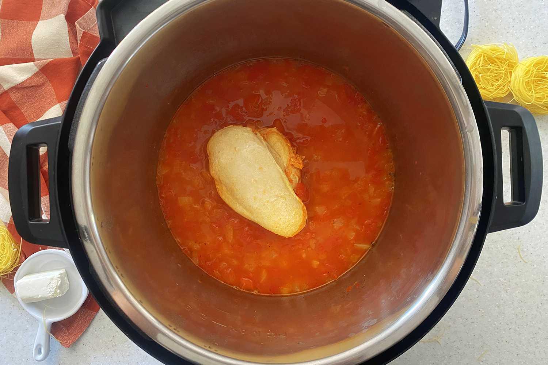 Instant Pot Chicken Spaghetti