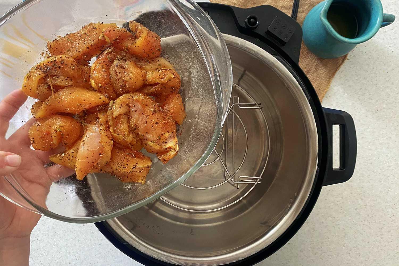 Instant Pot Chicken Tenders