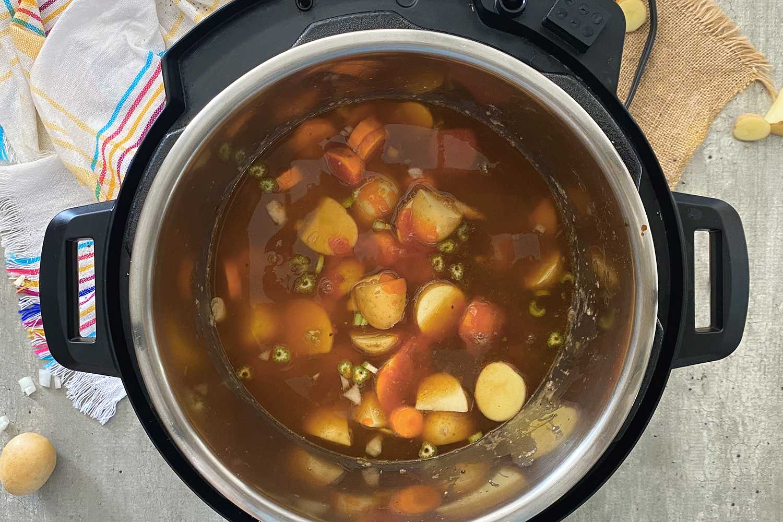 Instant Pot Hawaiian Beef Stew