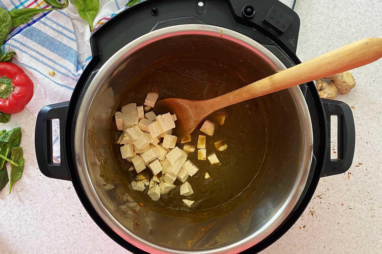 Instant Pot Palak Paneer