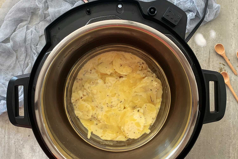 Instant Pot Scalloped Potatoes recipe