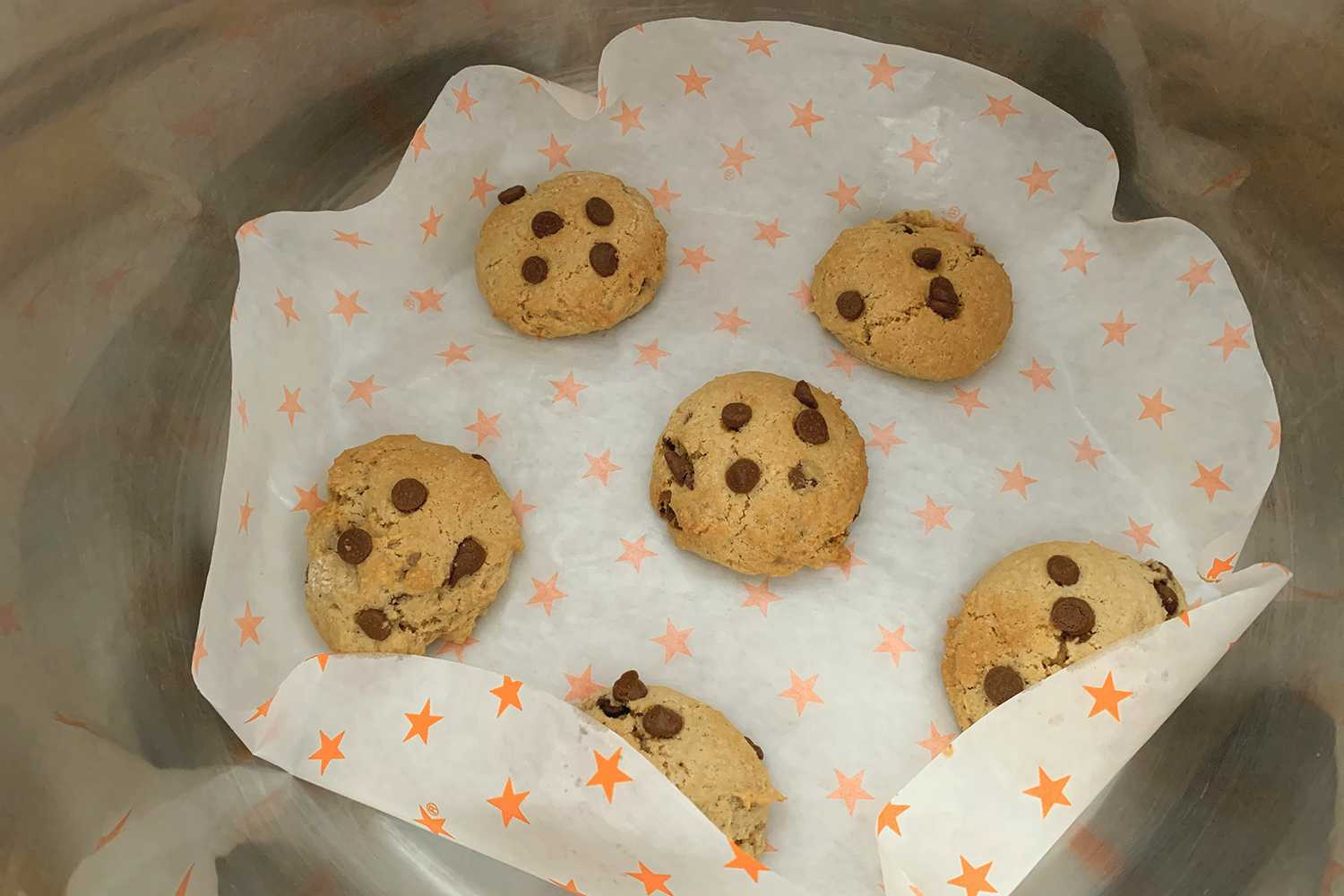 Instant Pot Chocolate Chip Cookies