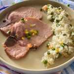 Instant Pot Pork Chops and Rice